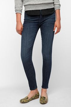 BDG Twig Mid-Rise Jean - Mid-Blue  #UrbanOutfitters