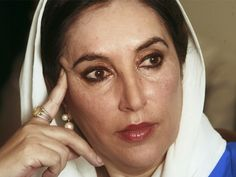 Benazir Bhutto (21 June 1953 – 27 December 2007) was the 11th Prime Minister of Pakistan, serving two non-consecutive terms in 1988–90 and then 1993–96. A scion of the politically powerful Bhutto family, she was the eldest daughter of Zulfikar Ali Bhutto, a former prime minister himself who founded the centre-left Pakistan Peoples Party (PPP).