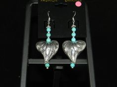 Check out this item in my Etsy shop https://www.etsy.com/listing/267170588/hearts-and-turquoise-earrings