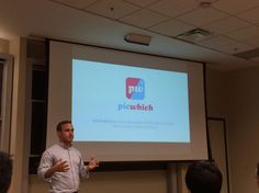 Picwhich presentation at Emory University CS class