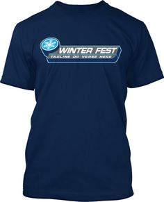 Your Winter Camp Retreat would not be the same without a customized Camp T-shirt. And this one here is just right for your team! The snowflake logo can be altered to your own logo, as well as the main text. In fact, all the elements on this shirt are fully customizeable. Change the colors, the images and color of the shirt – you name it – we got it. If you have your own design that you want to use,  we can work with you from there.       Winter Camp Retreat Shirt Design #795