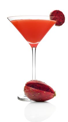 He's Into You...•1 oz Skyy Infusions passion fruit vodka   •1 oz raspberry liqueur   •2 oz pineapple juice