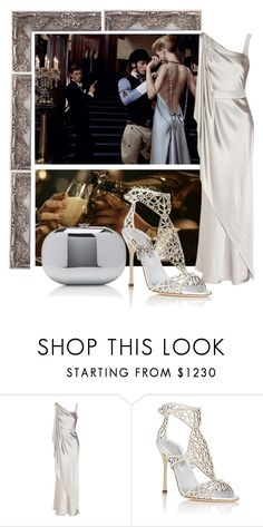 """Untitled #187"" by a-la-francaise ❤ liked on Polyvore featuring Amanda Wakeley, Sergio Rossi and Jeffrey Levinson"