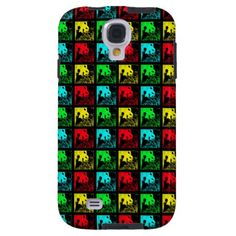 "Samsung Galaxy S4 Case, Pop Art Giant Pandas - This colorful ""Vibe"" Pop Art case for the Samsung Galaxy S4, in our popular ""Giant Pandas"" design, is sure to be a conversation piece! We also have matching gifts, greeting cards, and wrapping paper. See more at www.zazzle.com/SocolikCardShop*. A wonderful gift for people who love pandas. Original photo taken in China. All Rights Reserved © 2013 A&M Socolik.  #GiantPandas #CasesForGalaxyS4 #CasesForSamsungGalaxyS4 #ILovePandas #PopArt"