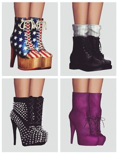 Boots by Momo - Sims 3 Downloads CC Caboodle
