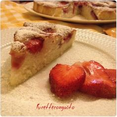 Dolci e desser No Cook Desserts, Biscotti, Food Art, French Toast, Cooking, Breakfast, Sweet Dreams, Food Cakes, Morning Coffee