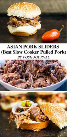 Best Slow Cooker Pulled Pork Recipe - Asian Style - Posh Journal
