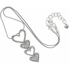Fall In Love Necklace - love the way it hangs. Still falling . . .