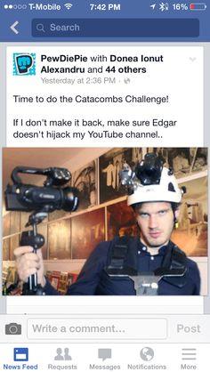 CATACOMBS CHALLENGE!!