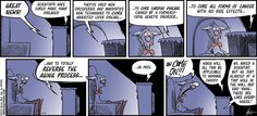 RUDY PARK daily comics by Darrin Bell » The Daily Comic Strip about a Tech Addict vs. an Ancient Luddite