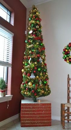DIY Sturdy Artificial Christmas Tree Cover