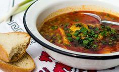 Ciorba de fasole verde acrisoara cu afumatura Supe, Romanian Food, Ethnic Recipes, Green
