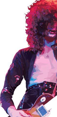 Led Zeppelin WIP by ginan.deviantart.com on @DeviantArt