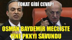 İsmail Kahraman'dan Osman Baydemir'e Tokat Gibi Cevap! | Mecliste Pkkyı ...