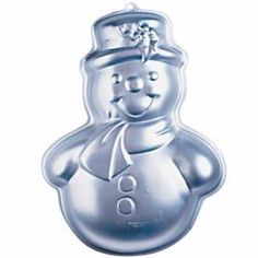 Nordic Ware Snowman Cake Pan Instructions