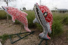 Projects Made From Junk | ... Israel, a safari of animals crafted from Coca-Cola trash - Boing Boing
