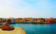 City of Colors by Antonis Palimetakis on Chania Sandy Beaches, Crete, Great Photos, West Coast, Beautiful Places, Island, Explore, Landscape, Colors