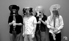 i really love this idea of a band-portrait!