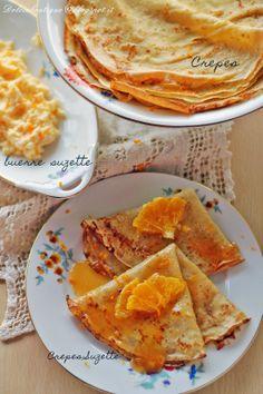 Crepes Suzette Escoffier