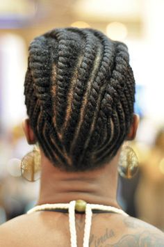 I just can't get enough of beautiful #flattwist styles for #naturalhair!