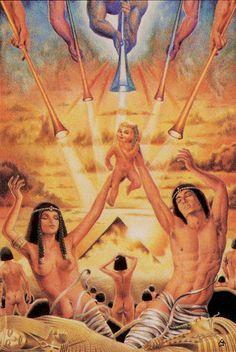 XX - Le jugement - Tarot des âges par Mario Garizio