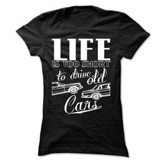 Don't drive old cars T Shirts, Hoodies. Check price ==► https://www.sunfrog.com/Automotive/Dont-drive-old-cars-Black-36719177-Ladies.html?41382 $22