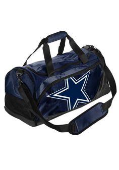 Dallas Cowboys Gym Bag - Dallas Cowboys  Mens Navy Blue Duffle Gym Bag