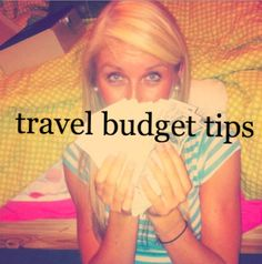 lots of good money saving travel tips