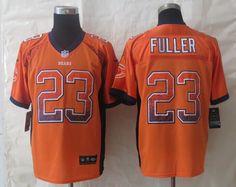 2014 Chicago Bears 23 Fuller Drift Fashion Orange Elite Jerseys