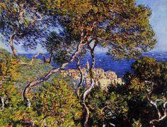 Claude Monet    Bordighera / Bordighera    1884. Tuval üzerine yağlıboya. 65 x 81 cm. Art Institute of Chicago, Chicago.