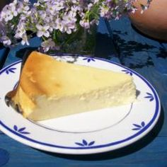 This cheese cake classic tastes super juicy and is in the preparation au . - Delicious Meets Healthy: Quick and Healthy Wholesome Recipes Food Tasting, Cheesecakes, Sweet Recipes, Easy Recipes, Simple, Oven, Easy Meals, Sweets, Healthy