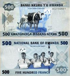 Rwanda 2013 500 Francs