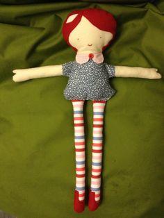 bambola di stoffa per la mia nipotina