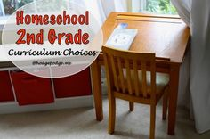 Homeschool Second Grade: Curriculum Choices 2013-2014 - the three Rs, extracurricular and more!