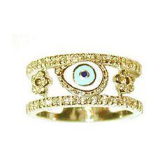 Aaron Basha ~ Double Decker Ring