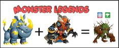 Monster Legends Breeding Guide, Monster Legends Game, Anubis, Legend Games, Bowser, Monsters, Character, Magical Creatures, Dragons