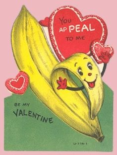 Because I have actually slipped on a banana peel. Banana peel love.