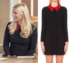 This Morning: October 2015 Holly's Red Collar Dress