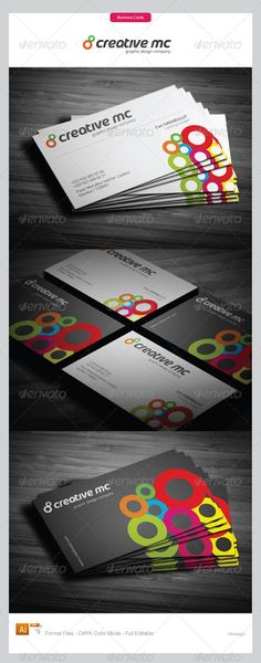 Business card detail adobe photoshop cs4 version round square corporate business cards 281 reheart Gallery