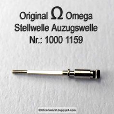 Omega Aufzugswelle Stellwelle männlich Part Nr. Omega 1000-1159 Cal.
