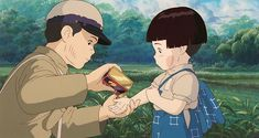 studio ghibli tattoo:hotaru no haka first session Hayao Miyazaki, Tatuaje Studio Ghibli, Studio Ghibli Tattoo, Japanese Animated Movies, Japanese Film, Japanese Toys, Totoro, Fireflies Anime, Hotaru No Haka
