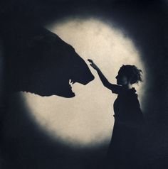 "© EMMA POWELL - ""Bear"" from 'In Search of Sleep' Both Tea-Toned Cyanotype, 2011"