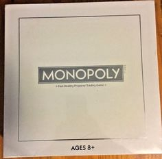 MONOPOLY - PEARL EDITION *NEW* Collectors Eddition  | eBay