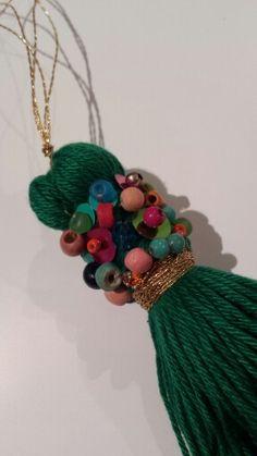 Beaded Tassel.......The Opulent Thread.....Kirrawee, Sydney ,Australia