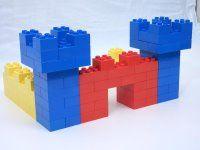 easy duplo castle