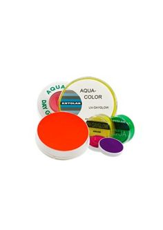 Aquacolor day glow UV makeup. 8 ml 89,- fast
