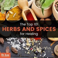 The Top 101 Herbs and Spices for Healing - Dr. Axe