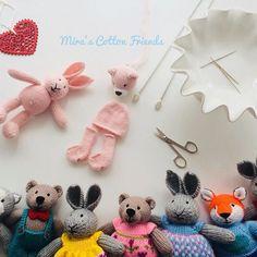 ❤️ Toys that will melt your ❤️//. *********************************** #yarn #yarnlove #bunny #knittedbunny #knittinglove #knit #knitters #knitting #knittersofinstagram #knittersoftheworld #instaknit #lovetoknit #knitstagram #igknitters #dollclothes #knittedrabbits #knittedtoys #bunniesofinstagram #knitdolls #colorwork #handknit #handmade #handmadewithlove #rabbitsofinstagram #bunniesoftheworld #knitdoll#littlecottonrabbits#örgü#tığiş #mirascottonfriends