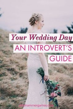 Strategies for introverts to enjoy their wedding day without being completely exhausted