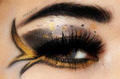 katniss everdeen hunger games - catching fire makeup